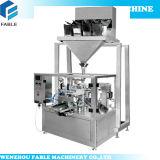 Reißverschluss-Beutel-reinigendes Puder-Drehverpackungsmaschine
