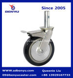 150 mm Rolled und Braked Scaffolding Caster Wheel