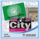 Cartão plástico esperto chave do Lf RFID do acesso do cartão do hotel