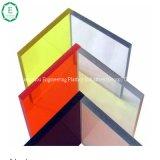 다채로운 플라스틱 PC 격판덮개