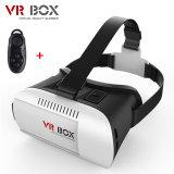 Vidros da realidade virtual 3D da caixa 2.0 de Vr