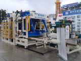 Máquina concreta hecha espuma ligera del corte por bloques de Qt8-15D, máquina de fabricación de ladrillo de la pequeña escala