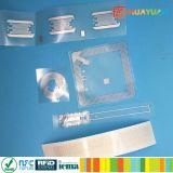 Activo que sigue escrituras de la etiqueta destructivas de la frecuencia ultraelevada RFID de la viruta de la seguridad ALN9730