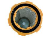 Polyester-Puder, das Kassetten-Filter aufbereitet