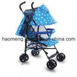 鋼鉄母および子供の自転車のベビーカー