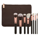 8PCS 로즈 Golden Luxury Cosmetic Brush Set (ST0803)