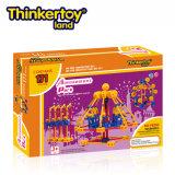 Thinkertoy أرض العلمي البناء كتل لعبة تعليمية بارك سلسلة ملاهي