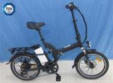 negro 250W plegable la bici eléctrica con la batería de litio 36V (JSL039D)