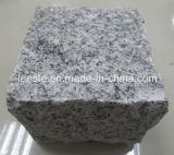 安い灰色G603の花こう岩のペーバーは盲目の石造りのペーバーを立方体にする