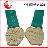 Médaille bon marché de la coutume 3D/2D de vente chaude avec la bande