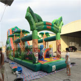 2016 Hot Sale Cheap Safari Park Inflatable Obstacle Course