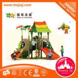 Campo da giuoco esterno dei bambini di plastica del playhouse dei giochi della sosta di Amusment