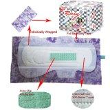 Serviettes hygiéniques de femmes de ventes en gros pour la garniture sanitaire de dames de Chine