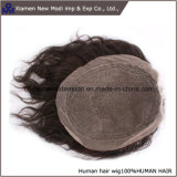 Toupee-Haar 100% der Menschenhaar-Männer