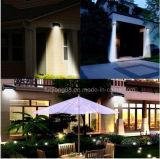 luz solar brillante del jardín de 32PCS LED con la función del sensor