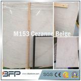 M153 Tegels van de Plakken van Cezanne de Beige Marmeren voor Binnenlands Ontwerp