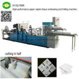 Машина ткани бумажной салфетки высокой эффективности выбивая и складывая
