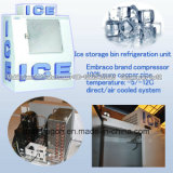 Escaninho de armazenamento ensacado do gelo do cubo de gelo