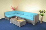 Jogo modular do sofá do Rattan