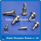 Parafusos inoxidáveis do parafuso de aço da cabeça do entalhe do costume DIN927 DIN427