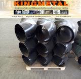 ASTM A42 Wpl 6 fabricantes soldados 6inch del codo de la instalación de tuberías de acero de carbón