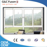 Glissant le guichet double Windows coulissant en aluminium de balcon