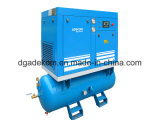 Compressor de ar giratório do parafuso da caraterística cheia completa (K308D/250)