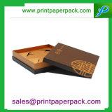 Caja de embalaje del bolso de la ropa de lujo profesional del reloj