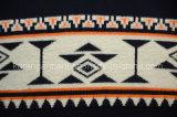 Maglione lungo degli uomini del manicotto del collo costolato di V