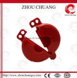 Rote ABS materielle Zylinder-Becken-Aussperrung mit Sicherheits-Vorhängeschloß