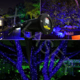 Im Freien Waterproof IP65 Blue Static Firefly Laser Light mit Wireless Remote