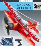 Электрическая игрушка плоскости катапульты