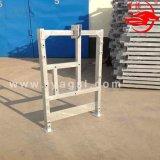 A plataforma de trabalho de alumínio do estágio da série de Zlp levanta o berço automático