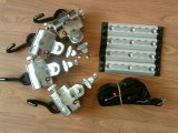 Sedia a rotelle Lock Devise & Locking Restraint System per Electric Manual Wheelchair con Safety Belts