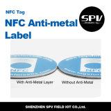Het Met een laag bedekte Document Ultralight ISO14443A van de Markering 13.56MHz van het anti-Metaal van Nfc