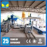 インドの高い技術的なセメントの空のブロックの成形機で普及した