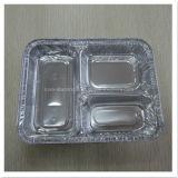 Алюминиевый устранимый контейнер еды упаковки
