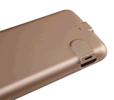 iPhone를 위한 Power 휴대용 은행 Emergency Charger Mobile Case 6 1500mAh