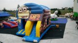 Bestes Selling Minions Cartoon Inflatable Bouncer Castle für Kids