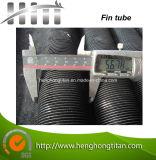Tubo de acero de aleta serrado espiral soldado con autógena
