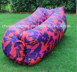 Sac de couchage paresseux d'air de banane gonflable de lieu de visites du camouflage 2016