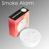 sistema alarma de incendio sin hilos estable de la alarma de humo del detector de humos 433MHz