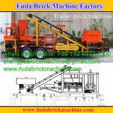 Máquina do bloco do reboque, máquina com reboque, máquina do tijolo do tijolo da movimentação