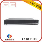 720p 16 Channel P2p Onvif HDMI BNC Ahd DVR Video Recorder