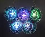 Guirlande d'intérieur d'éclairages LED de Noël de vente en gros de décoration