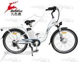 白い展開36V 250WアルミニウムフレームEの自転車(JSL038XB)