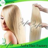 Extensão reta brasileira do cabelo humano do Virgin do uso conveniente