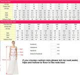 Luxuxbrautballkleid-Spitze blüht Perlen-Hochzeits-Kleider H20179