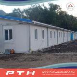 Het aangepaste Huis van de Container voor Dorms/Klaslokaal in de Bouwwerf