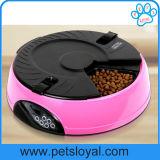 Bacia automática do cão de animal de estimação das refeições do OEM 6 do fabricante